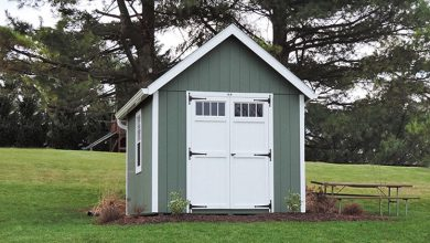 Photo of Storage Shed Materials and Size Guide