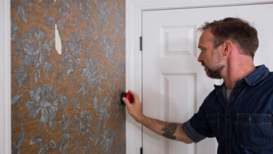 Photo of How to Remove Your Wallpaper Design for a Newly Painted Space