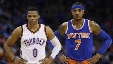 Photo of NBA legends Carmelo Anthony and Russell Westbrook joined Lakers as free agents